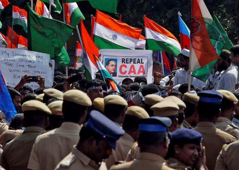 Caa Protests Chennai