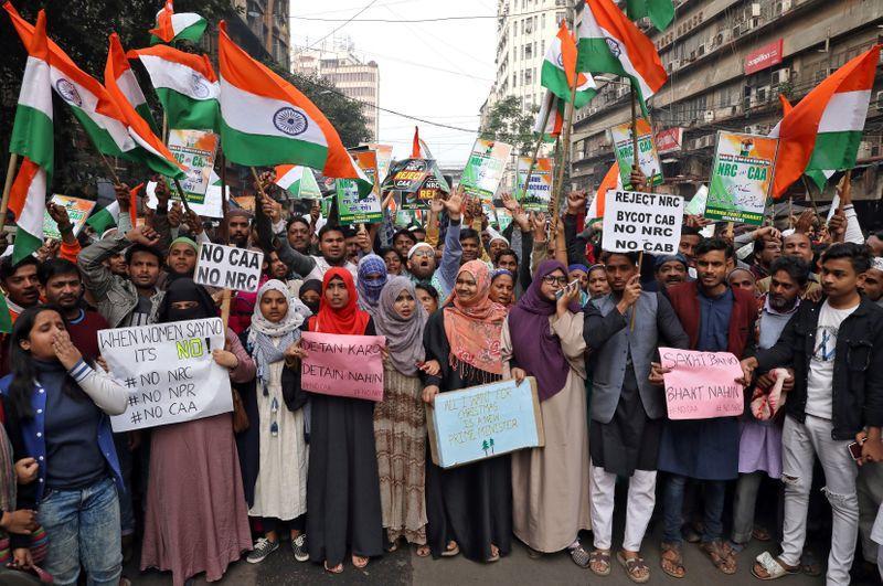 Caa Protests Kolkata